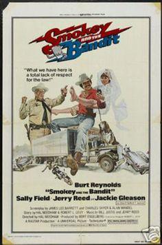 Burt Reynolds 'Smokey and the Bandit' Film print (18 x 12)