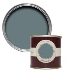 farrow and ball de nimes Hall Paint Colors, Hallway Colours, Wall Colors, Hall Painting, House Painting, Office Paint, Hallway Ideas Entrance Narrow, Favorite Paint Colors, Room Color Schemes