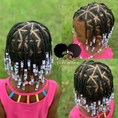 Children s individual braids and beads! booking link in bio! childrenhairstyles braidart childrensbraids braidsandbeads kidsbraidsatl individual braids with extensions using synthetic hair littlegirlboxbraids Box Braids Hairstyles, Cute Little Girl Hairstyles, Little Girl Braids, Baby Girl Hairstyles, Natural Hairstyles For Kids, Kids Braided Hairstyles, Natural Hair Styles, Toddler Hairstyles, Childrens Hairstyles