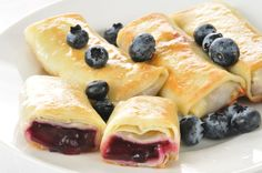 Sweet & Tart Recipe: Blueberry Blintzes - 12 Tomatoes