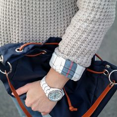 In Love <3 with my Guess Chronograph | White crystallized Watch | Uhr vom amerikanischen Jeans Label Guess