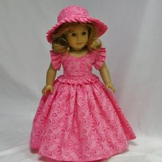 Southern Belle Gown in Pink