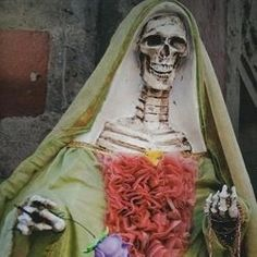 There are few books out there for English readers about Santa Muerte that don't sound like a trip into the Twilight Zone. Just a rough glance...