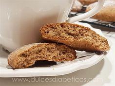 Galletas de canela sin azúcar   Dulces Diabéticos Biscotti, Healthy Life, Banana Bread, Diabetes, Cookies, Pancake, Queso, 3, Desserts
