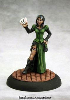 Female Huckster, Reaper Miniatures