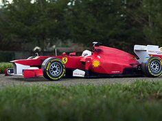 Ferrari F1 paper craft
