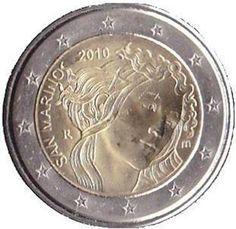 2 euro San Marino 2010. 500° anniversario morte Sandro Botticelli