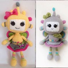 Amigurumi Robot Girl Turkish Pattern