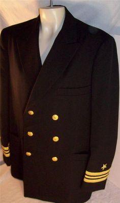 NAVY Service Dress Blue Uniform MEN MALE 40 40L long LCDR LIEUTENANT COMMANDER