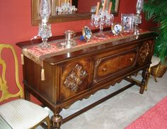 Berkey And Gay Furniture Value | This late 1920s buffet made by Berkey & Gay has just enough presence ...