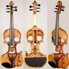 Funny pictures about Classical Rock: Skull Violin. Oh, and cool pics about Classical Rock: Skull Violin. Also, Classical Rock: Skull Violin. Musica Celestial, Art Et Design, Skull Design, Electric Violin, Vanitas, Skull And Bones, Skull Art, Metal Skull, Musicals