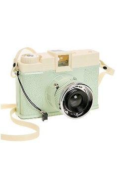 want: mint coloured Diana camera