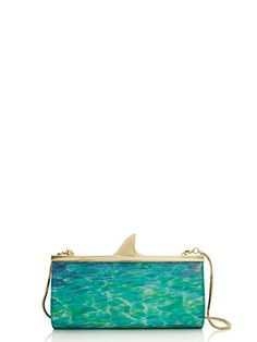 Kate Spade shark clutch Clothing, Shoes & Jewelry : Women : Handbags & Wallets : http://amzn.to/2jE4Wcd