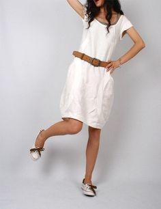 so fresh white dress....