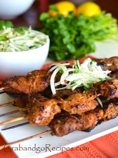Tender Pork Kebabs Shashlik #Russian_recipes #Russian_food
