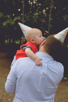 the daybook: great 1st birthday pic idea