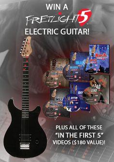 Win a Fretlight 5 Guitar Package