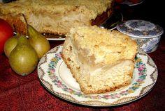 W Mojej Kuchni Lubię.. : jabłkowo-gruszkowe drożdżowe ciasto na suchych dro...