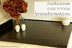 rustoleum countertop transformation - a great budget solution to creating an updated look in your kitchen