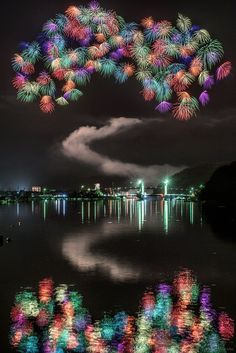 Fireworks, Mie, Japan