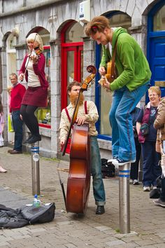 Great Entertainment at the Galway Sea Festival Yesterday Photo Courtesy of Roger Harrison