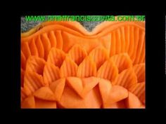 Carving, fruit carving, vegetable carving, Soap Carving, Carving of Chef Francisco Vita  www.cheffranciscovita.com.br