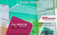(23) Twitter  Super varal Sóvarais.  Apartir de R$197,00  *válido para o varal de 0,80cm x 0,60cm  http://www.sovarais.com.br/loja     #varal #varaldeteto #sp #zonasul #zonaoeste #zonaleste #zonaoeste #supervaral