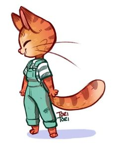 Had an urge to draw some overalls
