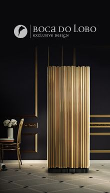 Boca do Lobo #furniture #design #powerfull #luxury #exclusive #fierceness #interiordesign #designers #unique #lamps #vintage #lighting #alluminium #brass #nature #copper #upholstery #ebony #veneer #lacquer #wood #gold #silver #varnish #marble #tiles