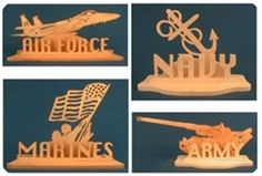 Proud to be an American Scroll Saw Pattern
