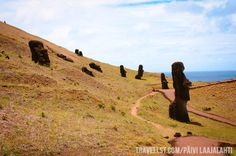 Rapa Nui, Easter Island - The Moai by Travellst.com