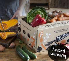 organic veg boxes, order online, delivered for free