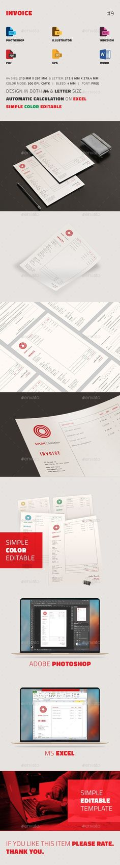 Invoice Excel Purpose, Stationery and A professional - ms word proposal template