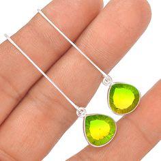 Multi Tourmaline 925 Sterling Silver Earring Jewelry EE864