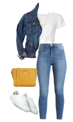 """""""#239"""" by mintgreenb on Polyvore featuring Miss Selfridge, Gap and BaubleBar"""