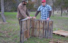 Compost Bin DIY: Quick Pallet Project - DIY Ready | DIY Projects - DIY Ready | DIY Projects