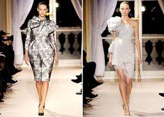 Giambattista Valli. Love the dress on the right