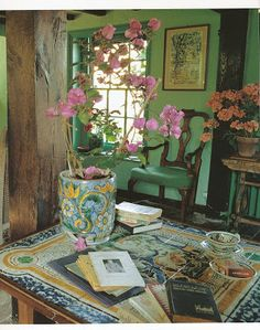 ~ atelier ~  .. X ღɱɧღ || J'attends...: Maison atmosphérique. Virginia Woolf 's Retreat at Monk's House