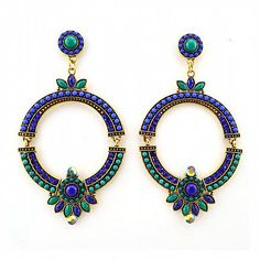 Statement Ohrringe BELLE von TRENDOMLY JOLIE Bijouterie Earrings Jewelry Trend 2014
