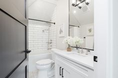 Bathroom designed by Madeleine Design Group in the West End of Vancouver, BC. *Re-pin to your own inspiration board*