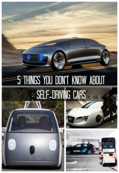 5 Things You Don't Know About Self-Driving Cars. AND you thought you knew it all... #spon #futuretech