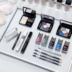 Makeup for the Dior women's Autumn-Winter 2015-16 fashion show, created by Peter Philips, Creative and Image Director of Dior Makeup.