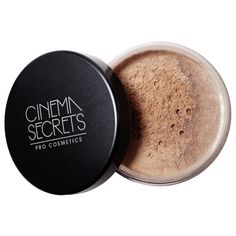 Take your makeup to the next level with a dusting of this soft-focus illuminator. This sheer, highlighting powder works to illuminate features with glam and glow! Contour Makeup, Contouring And Highlighting, Face Makeup, Make Lips Bigger, Cinema Secrets, Best Highlighter, Finishing Powder, It Goes On, Face Powder