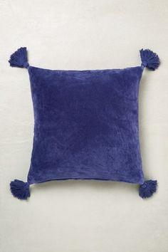 Buy Velvet Tassel Cushion from the Next UK online shop