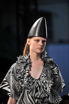 The Givenchy Spring 2010 Collection Features Dunce Hats