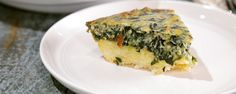 Spinach Hash Brown Quiche from Clinton Kelly.   This was a real WINNER with the Chew crew. Mario wants to steal it for his restaurant menu and Carla's gonna use it for something.