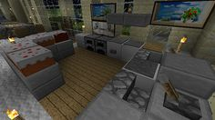 Minecraft Modern Kitcheninterior Design Ideas Updated Sept Minecraft Forum Kkmgnnq