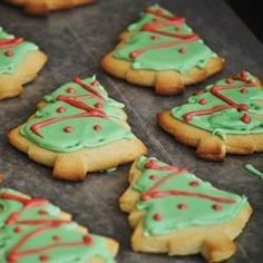 Soft cut out sugar cookie that I have used for years. Used butter and I cut back the flour to 3 cups