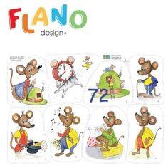 Var bor du lilla råtta?: flanosaga ..... #bilderbok #flanosaga