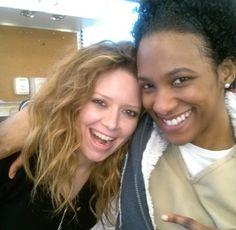 Orange is the New Black - Natasha Lyonne and Vicky Jeudy💙💙 Tv Show Casting, Casting Pics, Watson Oitnb, Nicky Nichols, Alex And Piper, Netflix Tv Shows, Natasha Lyonne, Orphan Black, Orange Is The New Black